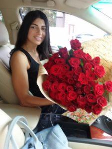 доставка цветов фотоотчет розы