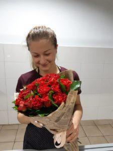 доставка цветов фотоотчет