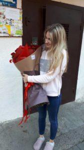доставка цветов фотоотчет мариуполь