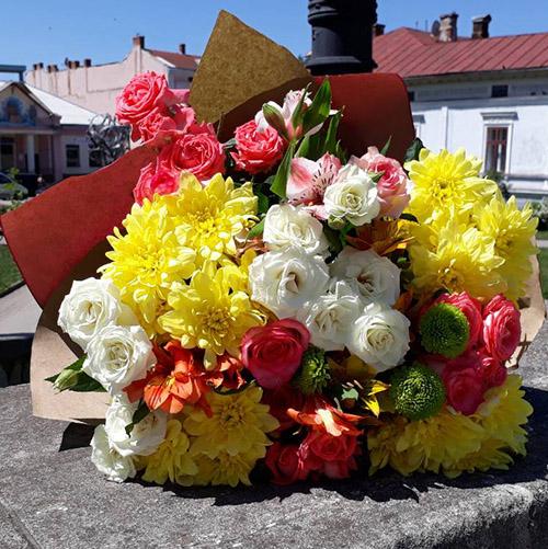 фото букета в Мариуполе