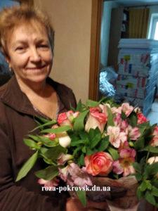 заказать цветы Покровск