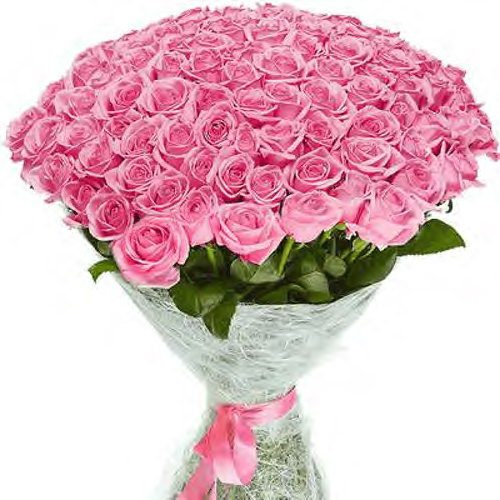 букет из 50 роз аква