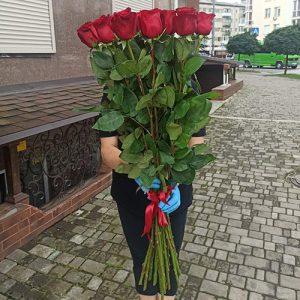 15 высоких роз в Мариуполе фото