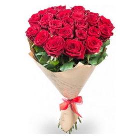 21 красная роза фото