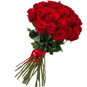 25 голландских роз в мариуполе фото