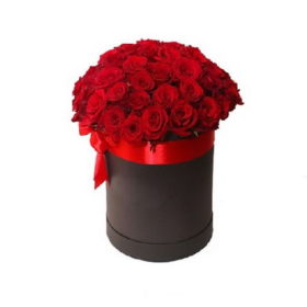 шляпная коробка 33 розы фото
