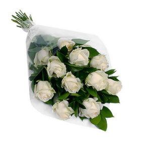 11 белых роз фото