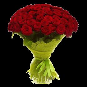 акция 101 красная роза