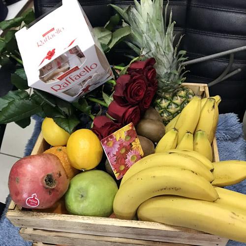 фрукты, цветы и конфеты в Мариуполе