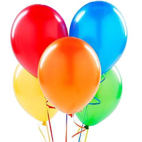 Фото товара 5 воздушных шаров