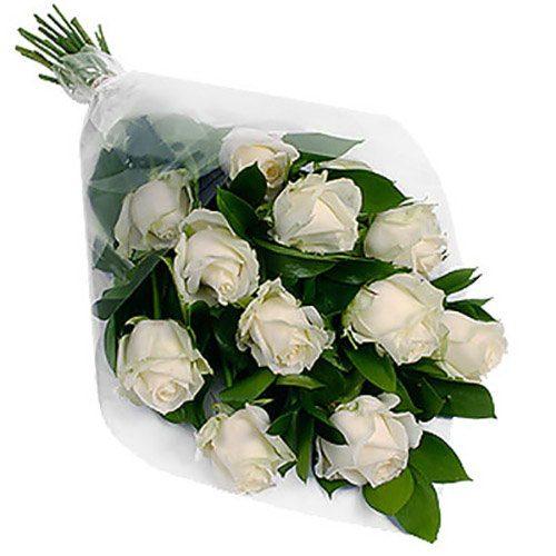 Фото товара 11 белых роз