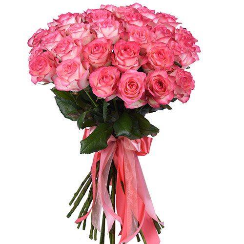 "Фото товара 33 розы ""Джумилия"""