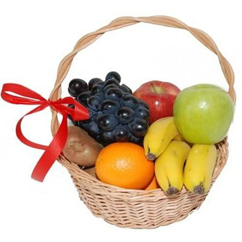Фото товара Малая корзина фруктов