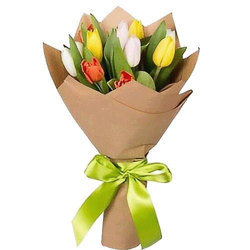 Фото товара 11 тюльпанов микс