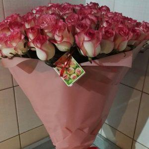 """Букет роз """"Джумилия"""" фото товара"""