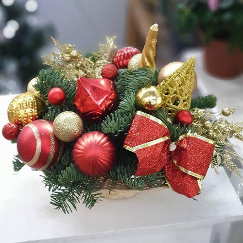 """Фото товара Икебана """"Новогоднее настроение"""""""