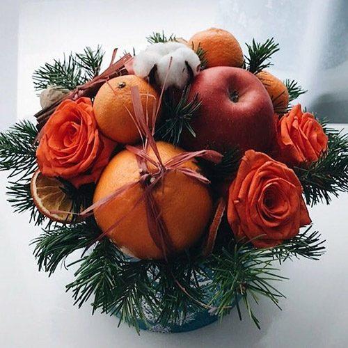 """Фото товара Коробка """"Оранжевое настроение"""""""