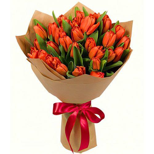 Фото товара 31 маковый тюльпан в крафт