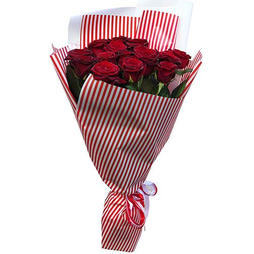 Фото товара 15 красных роз