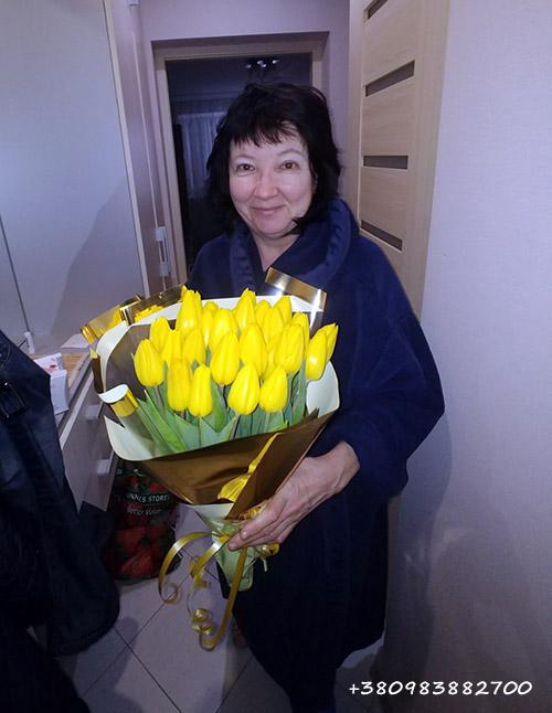 Цветы и конфеты в Мариуполе фото доставки