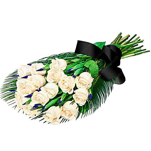 Фото товара 16 белых роз
